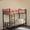 Кровати двухъярусные односпальные металлокаркас #615075