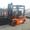 Вилочный погрузчик Toyota 7FD18 с киповым захватом #1606459
