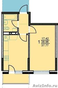 ЗАСТРОЙЩИК!!! 1 ком. квартира в Новостройке - Изображение #1, Объявление #1052462
