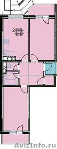 ЗАСТРОЙЩИК!!! 2 ком. квартира в Новостройке - Изображение #1, Объявление #1052463