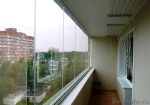 Безрамное остекление балконов, веранд, беседок, кафе - Изображение #1, Объявление #1593355