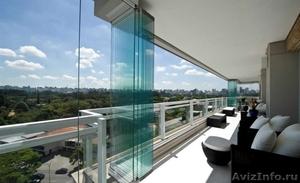 Безрамное остекление балконов, веранд, беседок, кафе - Изображение #2, Объявление #1593355