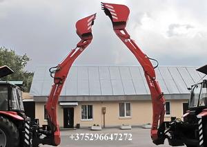 ЭБП-11М экскаватор-погрузчик с усиленным экскаваторным оборудованием - Изображение #5, Объявление #448714