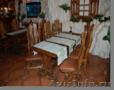 Произсодство, продажа  деревянных столов,  стульев, лавочек,  обеденных групп массив