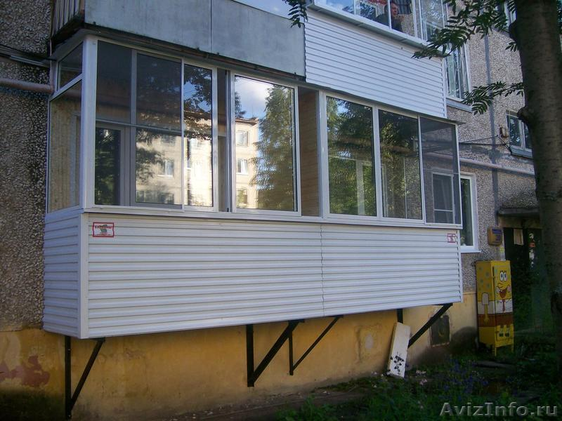 Установка балконов и лоджий на первых этажах в краснодаре, п.