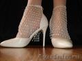 Оригинальные свадебные туфельки
