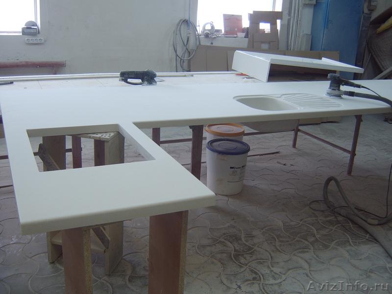 Изготовление столешниц искусственного камня своими руками