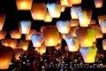 Небесные фонарики в форме конуса