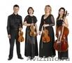 Струнный квартет на праздник.Музыканты на свадьбу.Скрипач.Саксофон.