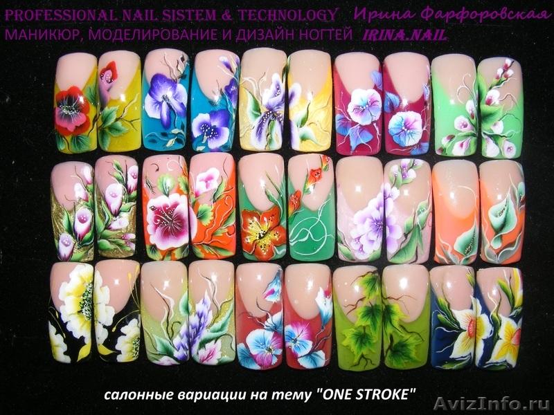 Китайская роспись ногтей в москве
