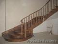 Лестницы деревянные винтовые,  на косоуре