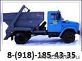 Аренда Бункера 8м3(контейнер-лодочка) Бункеровоз, Объявление #1091472
