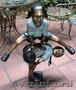 Креативная скульптура из металла