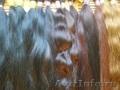 Волосы для горячего капсульного наращивания.