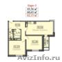 Двухкомнатная квартира в Краснодарском крае за  три миллиона рублей.