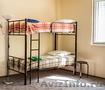 Кровати двухъярусные односпальные металлокаркас - Изображение #2, Объявление #615075