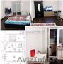 Jднокомнатная квартира с частичным ремонтом